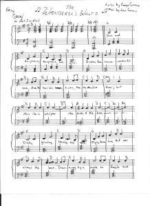 Wanderers Waltz page 1 001